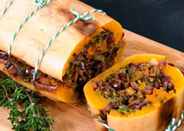 Vegan Christmas recipe Butternut Squash