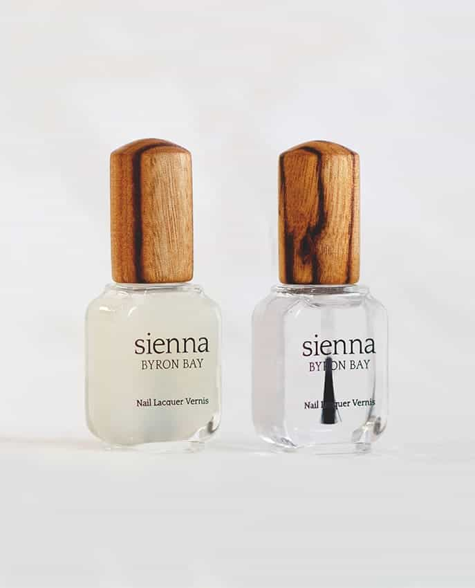 Manicure tips Base coat and Top Coat Sienna Byron Bay