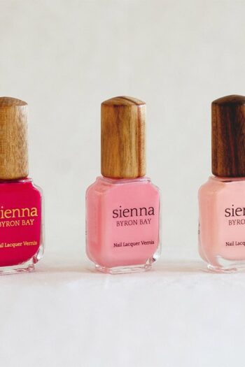 Luscious Cotton Candy Fleur Nail Polish Sienna Byron Bay